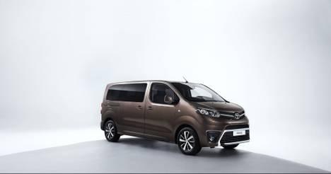 El Toyota Proace Verso ya está en España