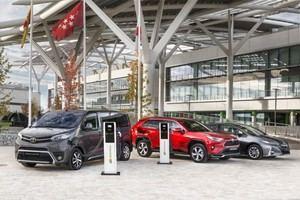 Toyota se alía con Iberdrola y Endesa X