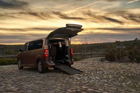 Gama de vehículos adaptados para personas con movilidad reducida de Toyota