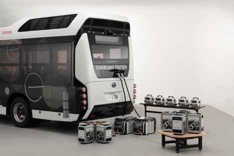 Toyota y Honda desarrollan un generador eléctrico portátil