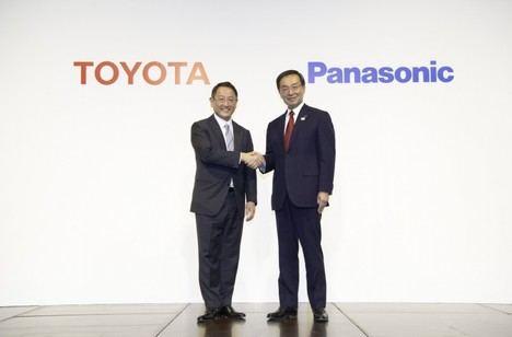 Toyota y Panasonic anuncian la creación de una empresa conjunta