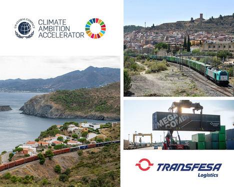 Transfesa Logistics se une al programa Climate Ambition Accelerator para alcanzar el cero neto en 2050