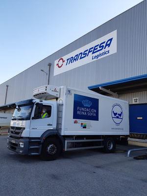 Transfesa Logistics transporta 66 toneladas solidarias durante la pandemia