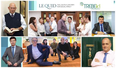 Trebeki y LeQuid, combinan esfuerzos en el ámbito jurídico y mercantil