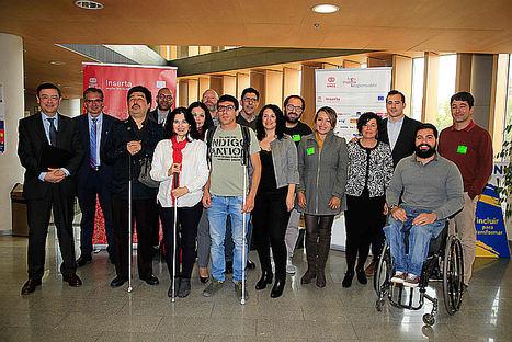 Trece personas con discapacidad se forman en 'reemprendimiento'