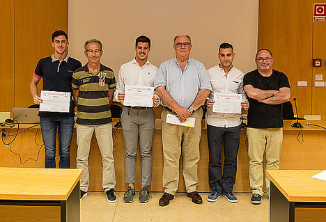 Tres premios a la investigación entre el personal científico joven se han entregado en el ITC en las II Jornadas para Jóvenes Investigadores