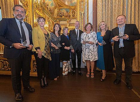 Los mayoristas madrileños celebran la I Entrega de los Premios Triángulo de la Moda