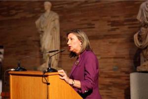 Trinidad Nogales, directora del Museo Nacional de Arte Romano de Mérida.
