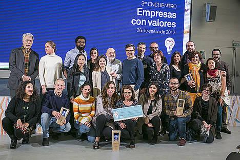 La Comisión Española de Ayuda al Refugiado gana el Premio Triodos Empresas