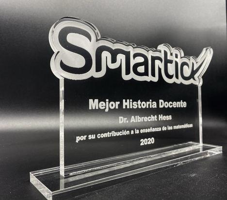 Albrecht Hess, el formador de talentos matemáticos, premio Smartick a la Mejor Historia Docente 2020