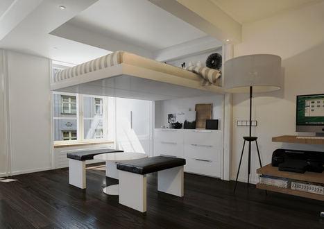 Tu Lecho al Techo, una ingeniosa solución de espacio para negocios de hospedaje