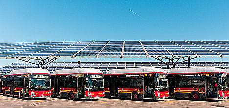 GMV suministrará el nuevo sistema de videovigilancia para los autobuses urbanos de Sevilla