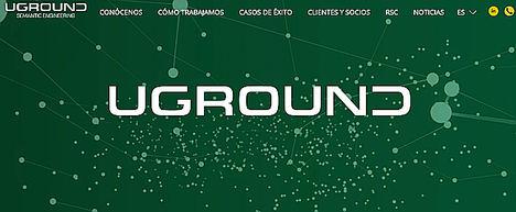UGROUND estrena nueva web desarrollada con UDESING