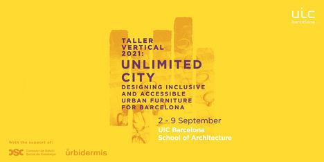 Estudiantes de Arquitectura de UIC Barcelona diseñarán prototipos de mobiliario urbano inclusivo