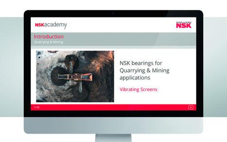El módulo de formación online para cribas vibratorias ahora ya está disponible en la NSK academy