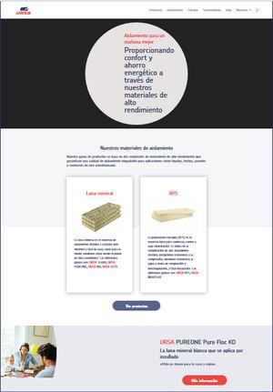 URSA estrena nueva Web vinculada a una plataforma digital (PIM) que le permitirá estar constantemente actualizada