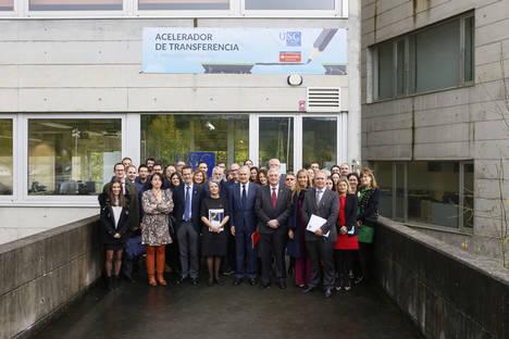 USC y Banco Santander reconocen la labor de los proyectos incluidos en el Acelerador de Transferencia