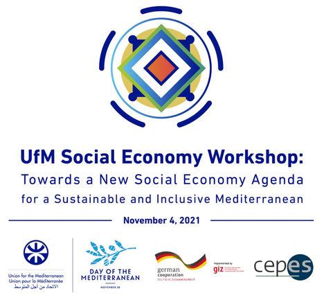 CEPES junto con la Unión por el Mediteráneo (UpM) abordarán la nueva agenda de economía social y su contribución a un Mediterráneo inclusivo y sostenible