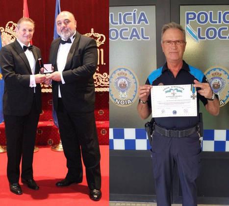 Un Criminólogo y un Policía gallegos, galardonados con la Cruz de Honor del Policía Europeo