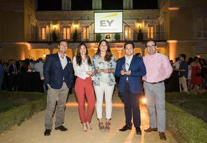Una alumna del CEF.- galardonada con el Premio Young Tax Professional of the Year de EY Abogados