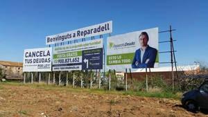 Una campaña de Repara Tu Deuda modifica el nombre de la ciudad