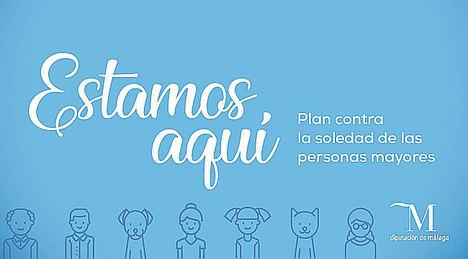 Un ambicioso plan en Málaga lucha contra la soledad de miles de mayores esta Navidad