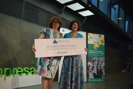Una profesora de un instituto madrileño gana el premio al docente emprendedor del año