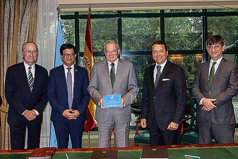 Unicaja Banco reafirma su apoyo al Centro Internacional de Formación de Autoridades y Líderes (Cifal) de la ONU en Málaga con el objetivo de fomentar el desarrollo sostenible