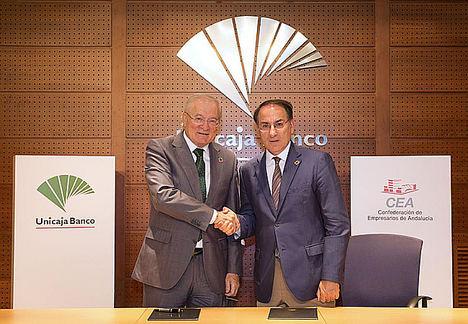Unicaja Banco apoya la creación de la Oficina Empresarial para el Cumplimiento de la Agenda 2030, impulsada por CEA