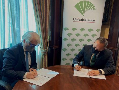 Unicaja Banco ofrece financiación y servicios en condiciones ventajosas a más de 6.500 abogados colegiados de Málaga
