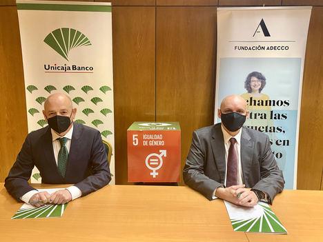 Unicaja Banco firma un nuevo acuerdo con la Fundación Adecco para colaborar en la inserción laboral de mujeres en riesgo de exclusión social