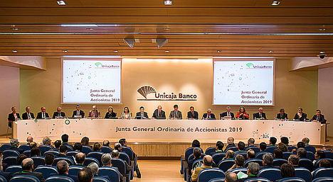 La Junta de Accionistas de Unicaja Banco aprueba las cuentas de 2018