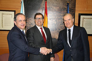 Universidade da Coruña, Fundación Universia y Banco Santander consolidan el proyecto Espazo Compartido