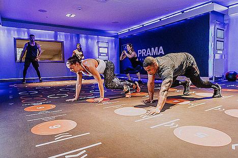Inversores de cuatro países se interesan por un gimnasio 100% interactivo diseñado en Alicante