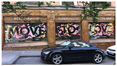 Urban Decay, de L'Oreal, se une al live painting del Orgullo con Rosh333 y Spotahome