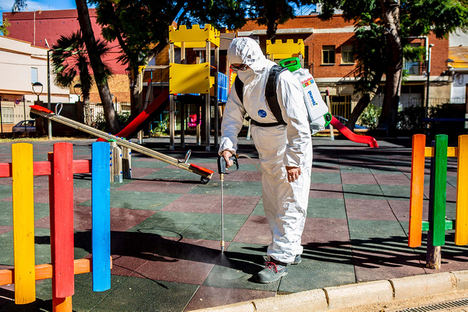 Utilizan tecnología avalada por la NASA para conseguir parques infantiles libres de virus y bacterias