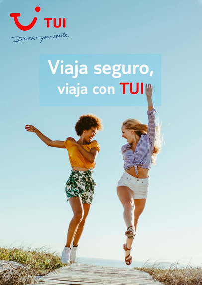 'Viaja seguro, viaja con TUI', la campaña para disfrutar de las vacaciones de verano con todas las garantías