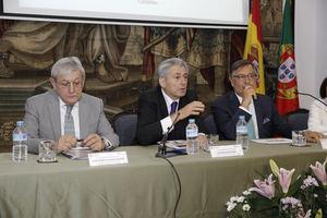 De izqda a dcha:  José María Casado, Valentín Pich y Rui Leão Martinho.