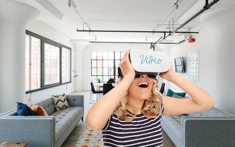 La última tecnología en 360° en SIMA: gafas, cámaras y un robot para vender casas