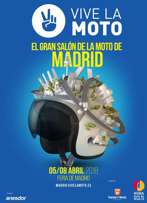Vive la moto, el Gran Salon de la Moto de Madrid, se prepara para ser el evento de referencia del sector de las dos ruedas