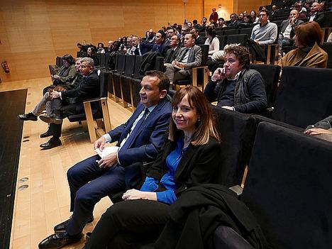 Sabrina Veral y Vicente Lázaro.
