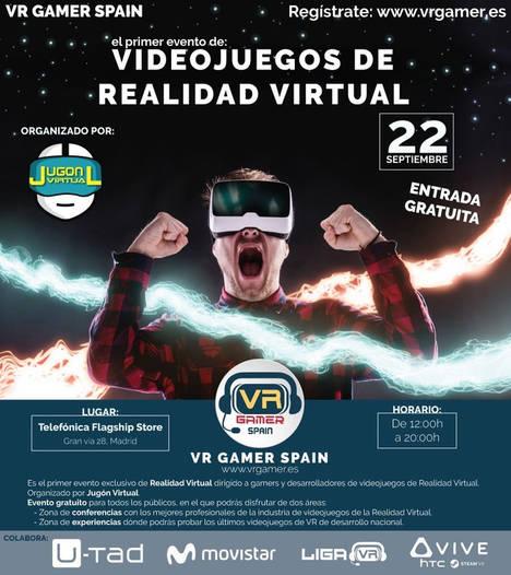 Profesores y alumnos de U-tad participan en VR Gamer Spain