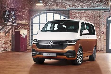 Estreno mundial del Facelift del Volkswagen Multivan