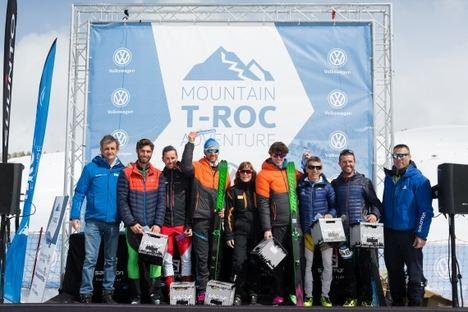 Se celebró la Mountain T-Roc Adventure de Volkswagen