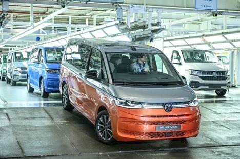 Se inicia la producción del nuevo Multivan de Volkswagen