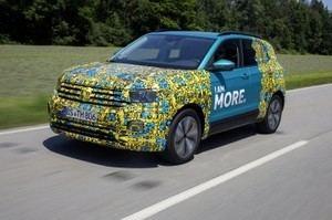 Volkswagen Navarra fabrica los primeros T-Cross de la serie 0