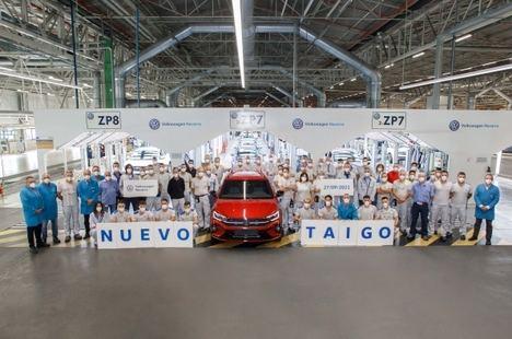 Volkswagen Navarra inicia la producción del nuevo Taigo