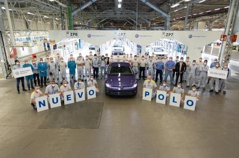 Volkswagen Navarra comienza a producir en serie el nuevo Polo