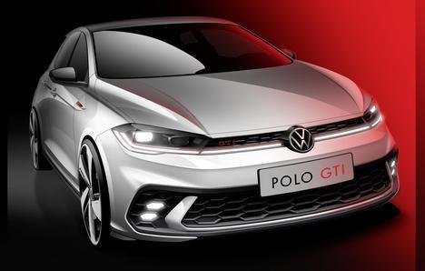 Primeros bocetos del renovado Volkswagen Polo GTI