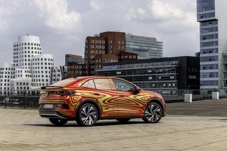 Volkswagen presentará el SUV Coupé ID.5 GTX en el Salón de Múnich